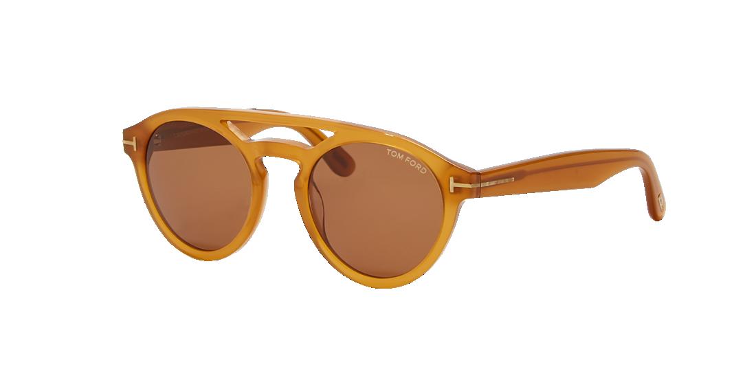 8b623371981b Tom Ford TR000805 50 Brown   Yellow Sunglasses