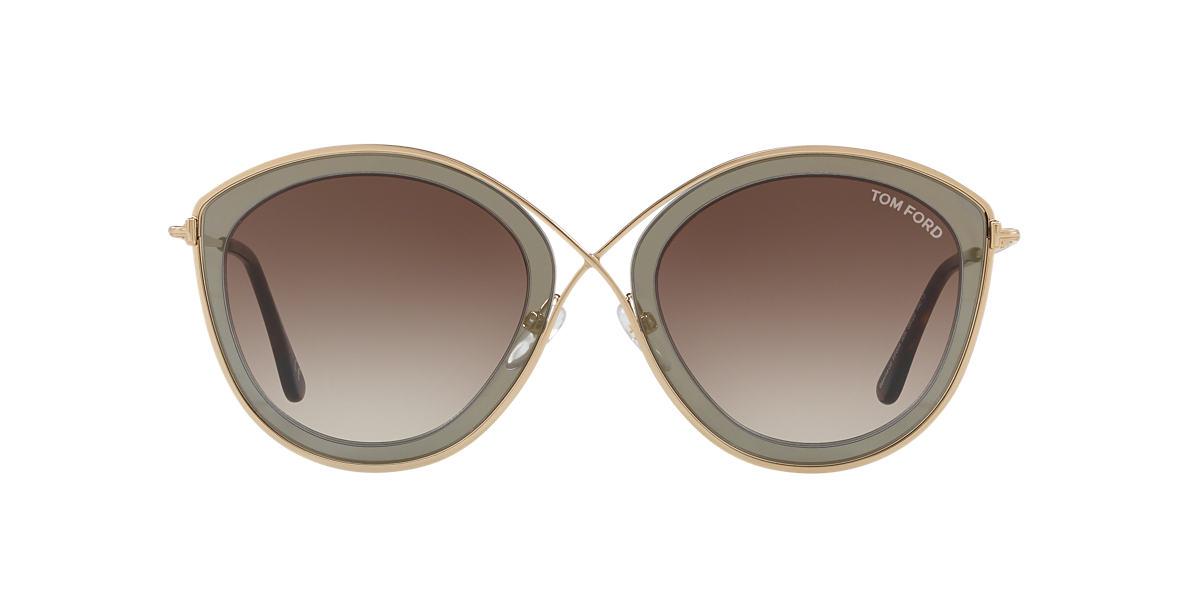 b55f51e25db30 Tom Ford TR000993 55 Grey-Black   Brown Sunglasses