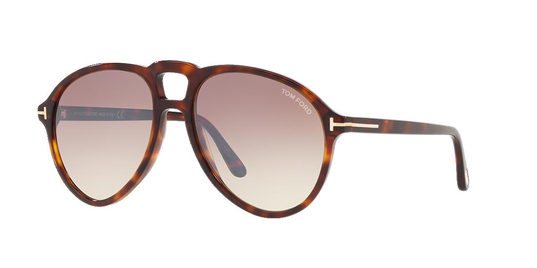 73305317231 Tom Ford TR001014 57 Brown   Tortoise Sunglasses
