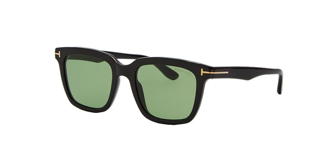 Tom Ford TR001015 53 Green   Black Sunglasses  dd7c052702