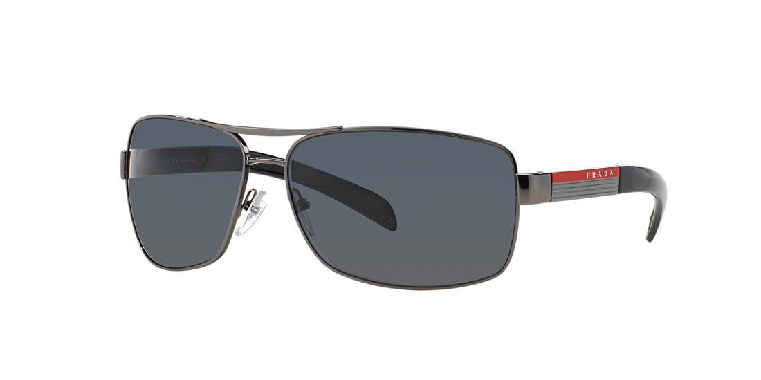 00d09091b5a Prada Linea Rossa PS54IS 65 Grey-Black   Gunmetal Polarised ...