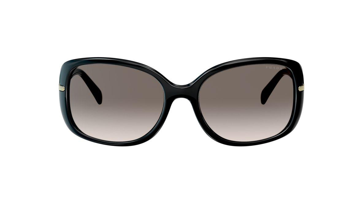 966cb5eff2d Prada PR 08OS 57 Grey-Black   Black Sunglasses