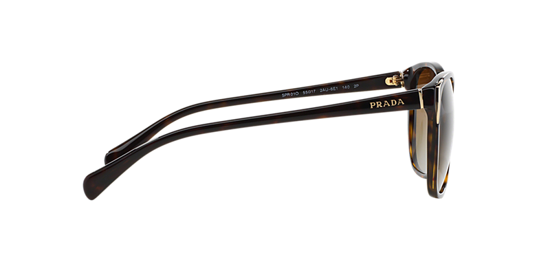 a786ae8316a Prada PR01OS 55 Brown   Tortoise Polarized Sunglasses