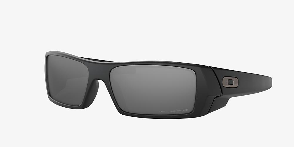 29832a9bc612 Oakley OO9014 Gascan® 60 Silver & Black Polarized Sunglasses ...