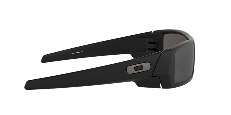 df432787f3 Oakley OO9014 60 Silver   Black Polarized Sunglasses