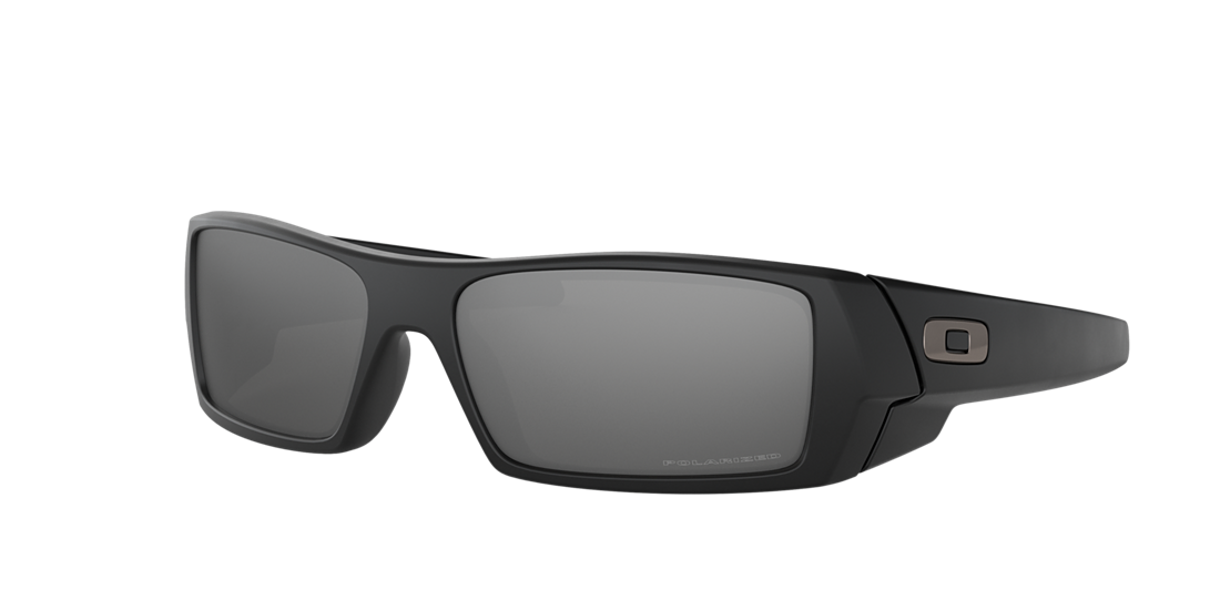 5b4e07cc61 Oakley OO9014 60 Silver   Black Polarized Sunglasses