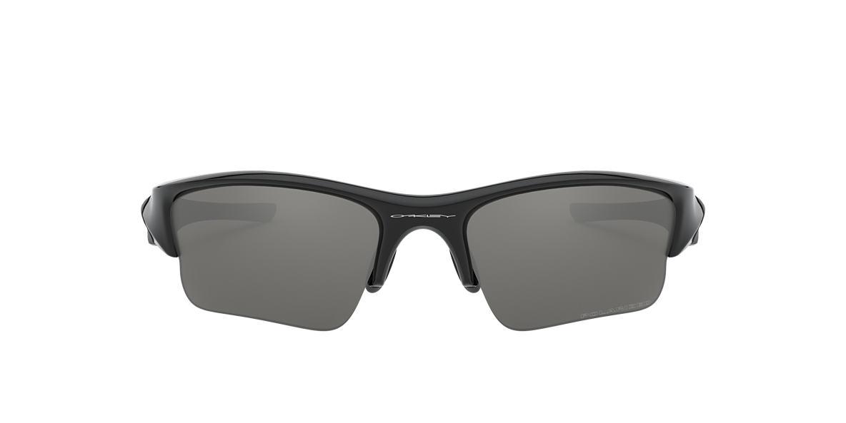 77f6ffc81f5f5 Oakley null 63 Silver   Black Polarized Sunglasses