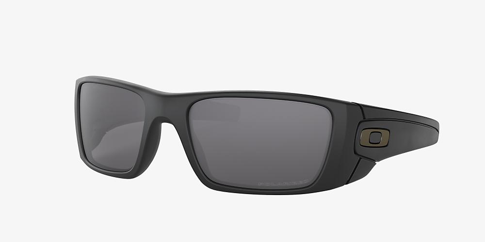 7ed6cd2a56 Oakley OO9096 60 Grey-Black & Black Polarized Sunglasses | Sunglass ...