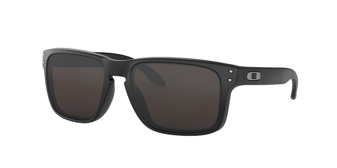 b6b3cda4f4 Oakley OO9102 57 Grey-Black   Black Sunglasses