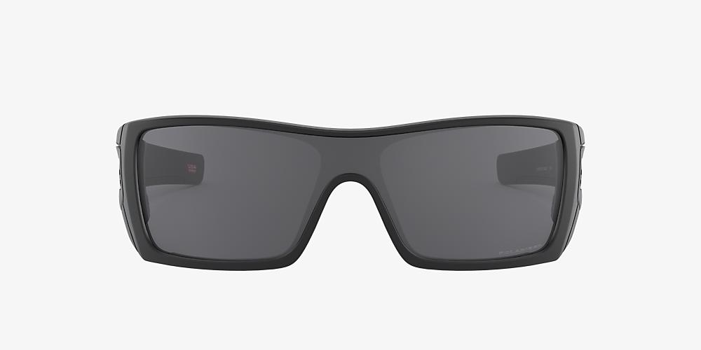 5d2be8bbec Oakley OO9101 Batwolf® 01 Grey-Black & Black Polarised Sunglasses ...