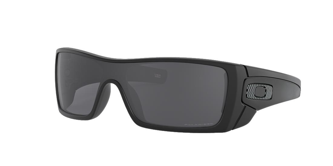 469e9a05c5a Oakley OO9101 01 Grey-Black   Black Polarized Sunglasses