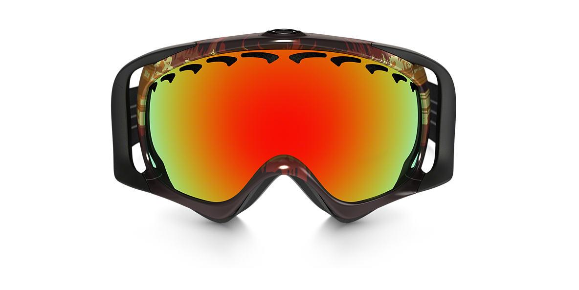 Red OO7005N Crowbar® Snow Goggle Orange