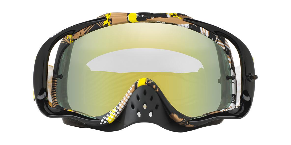 Gold OO7025 Crowbar® MX Goggle Yellow