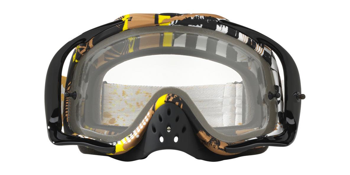 Black OO7025 Crowbar® MX Goggle Transparent