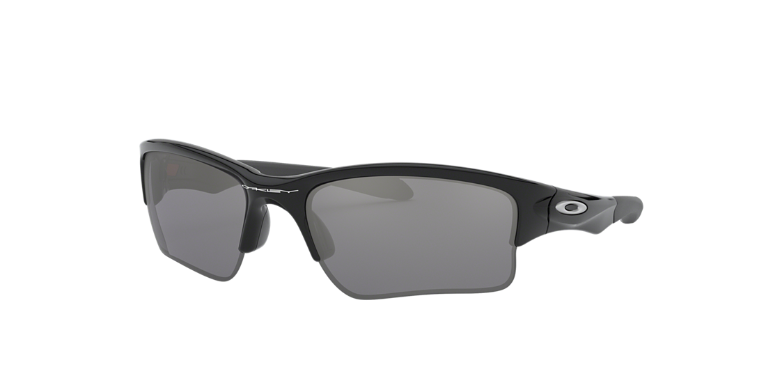 4749c0835e Oakley OO9200 QUARTER JACKET YOUTH 61 Grey-Black   Black Sunglasses ...