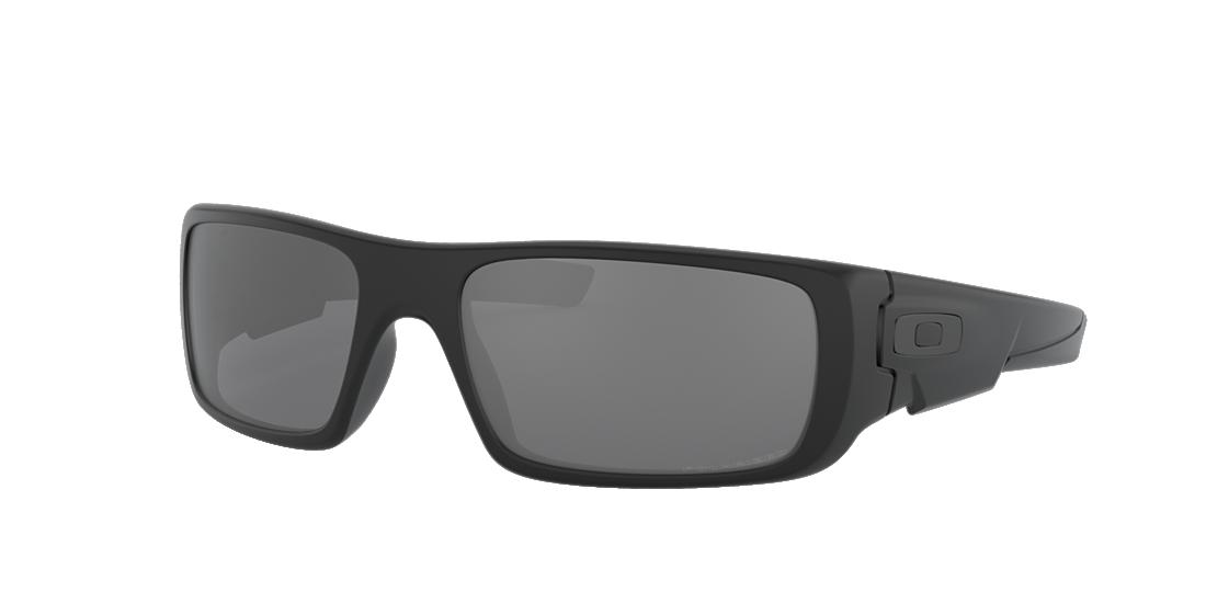 9acdc2615d Oakley OO9239 60 Grey-Black   Black Polarized Sunglasses