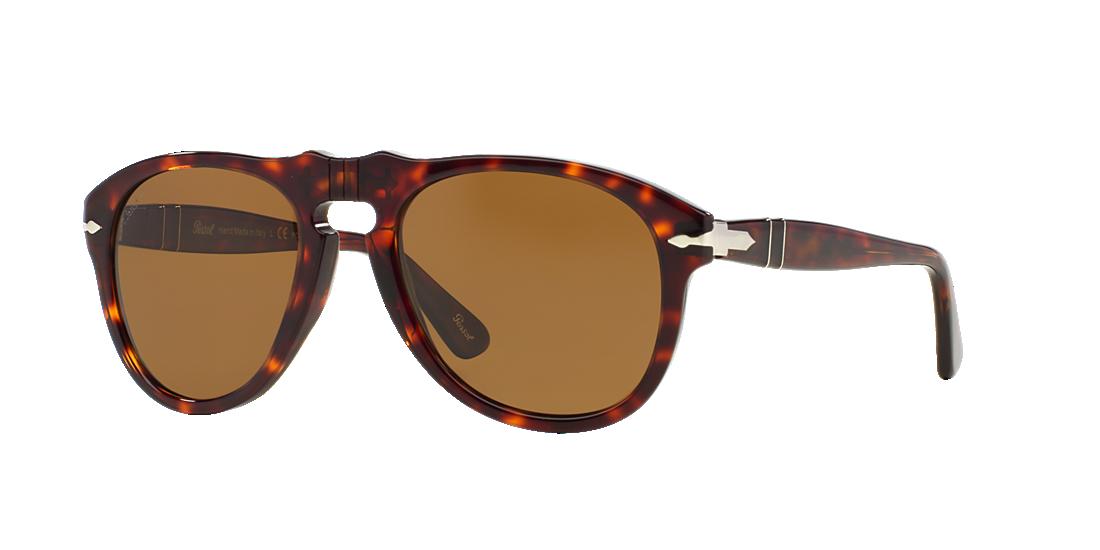 125bbe0451 Persol PO0649 54 Grey-Black   Tortoise Polarized Sunglasses ...