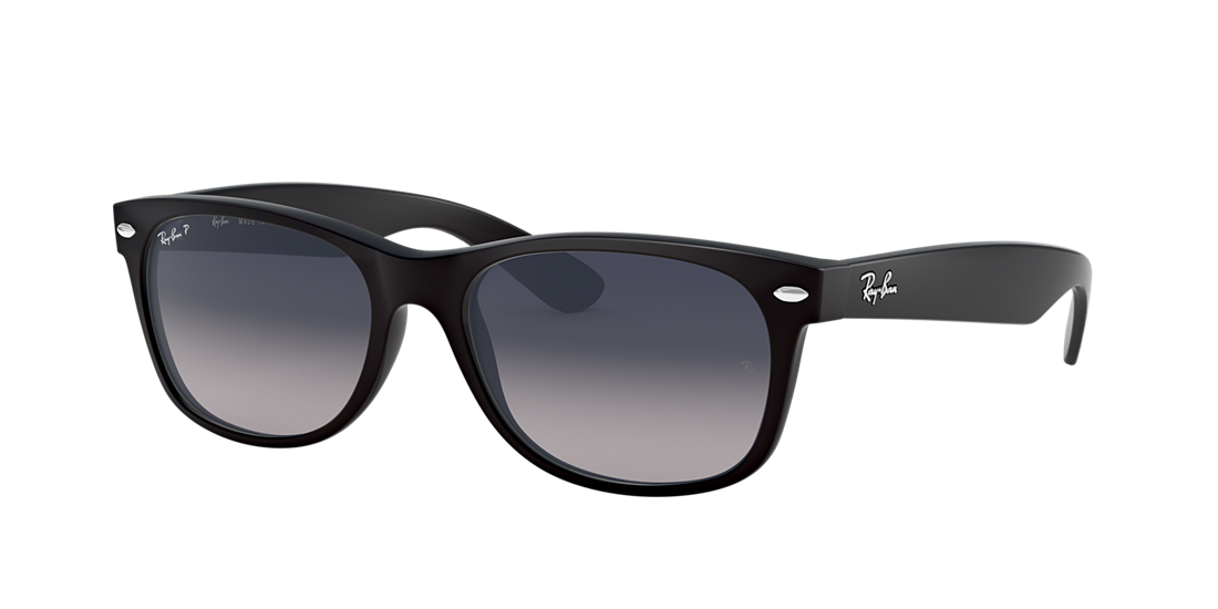 2cd4c26aab Frame  black. Lenses  polarized blue grey gradient. PDP Product Image