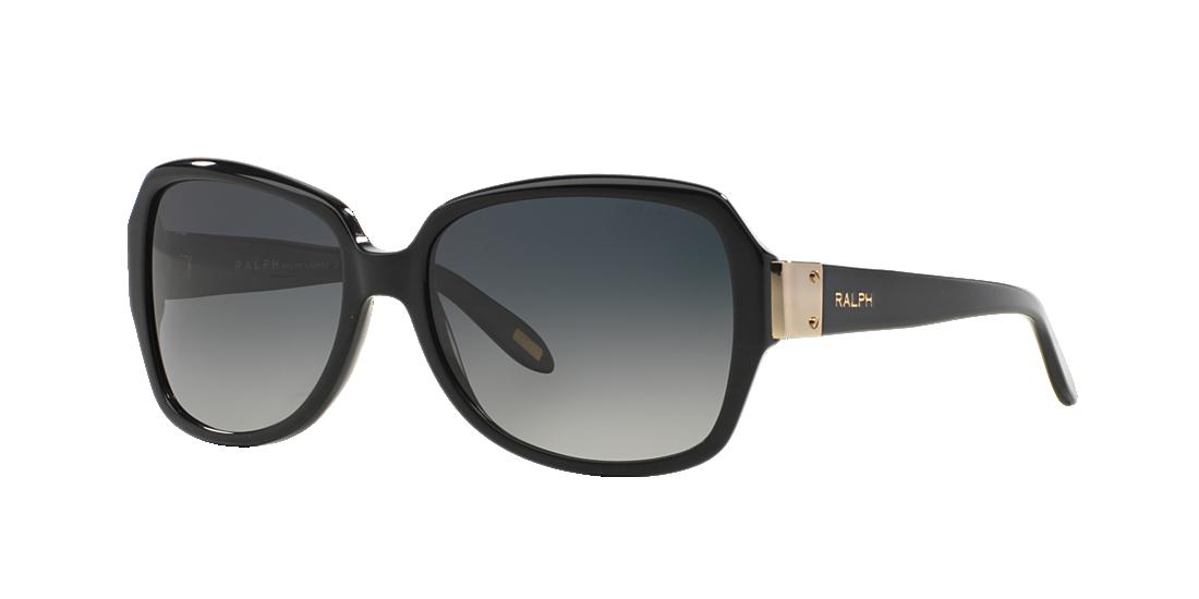 f9663008b6 Ralph RA5138 58 Grey-Black   Black Polarized Sunglasses