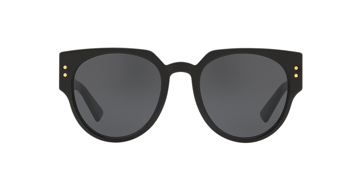 Black LADYDIORSTUDS3 Grey-Black  52