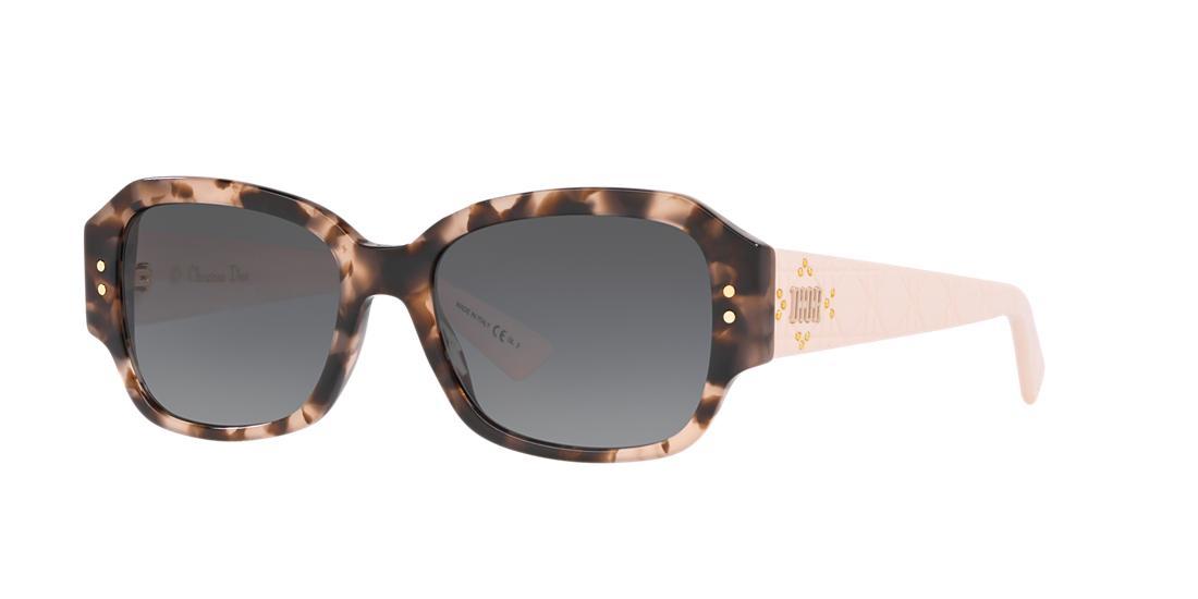e228d504d6 Dior Ladydiorstuds5 54 Tortoise Rectangle Sunglasses