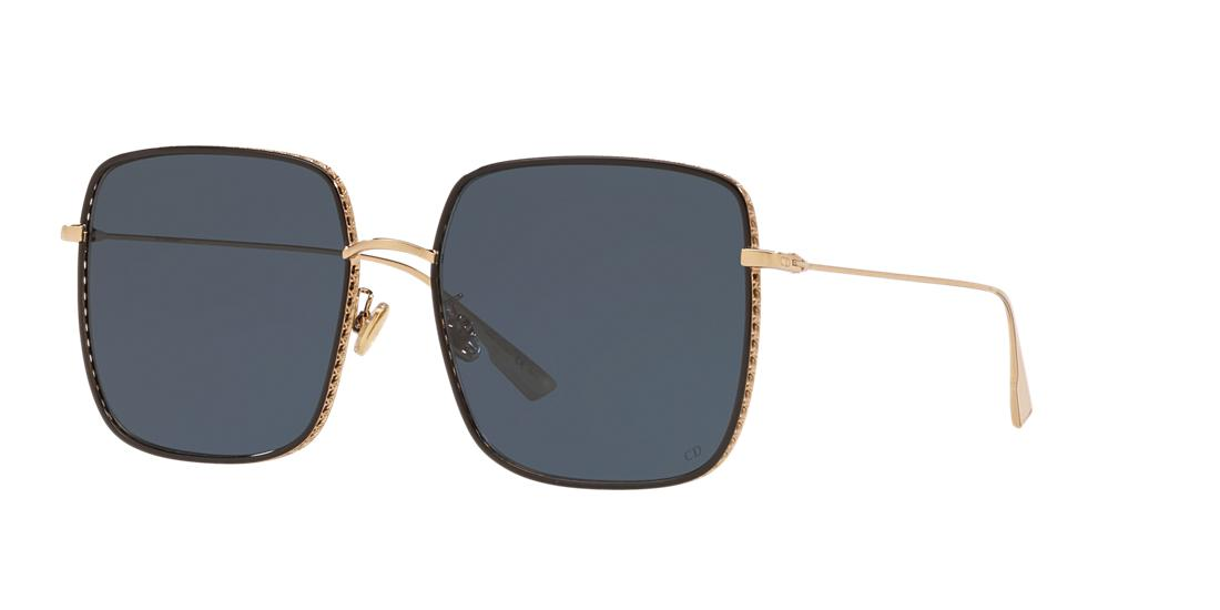 Dior Woman  Diorbydior3f -  Frame color: Gold, Lens color: Blue