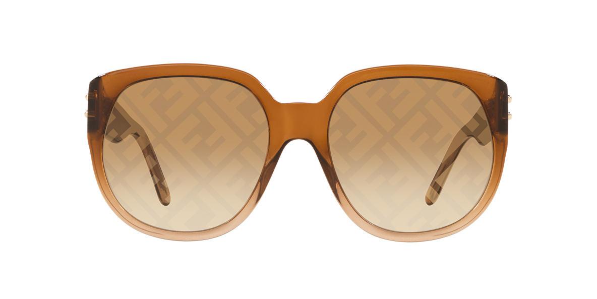 Brown FN000532 Brown Gradient Mirror