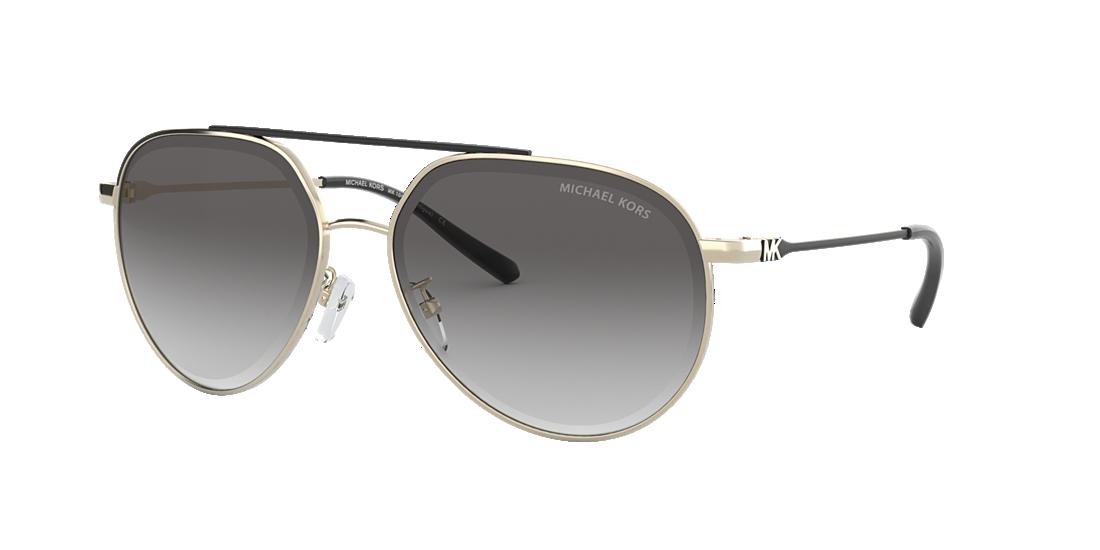 714f6e391b4 Michael Kors MK1041 60 Grey-Black   Gold Sunglasses