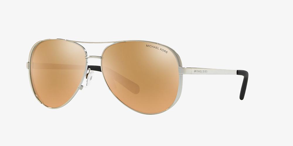 0ba7ea224d0d Michael Kors MK5004 Chelsea 59 Pink & Silver Sunglasses | Sunglass ...