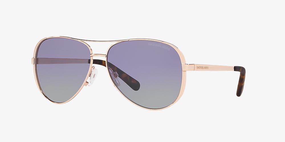 26c7260d090e Michael Kors MK5004 Chelsea 59 Violet & Gold Polarised Sunglasses ...