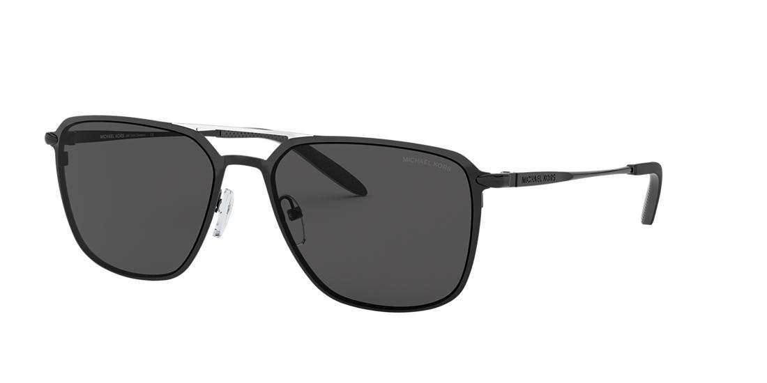 Michael Kors Man  MK1050 Trenton -  Frame color: Black, Lens color: Grey-Black, Size 57-18/145