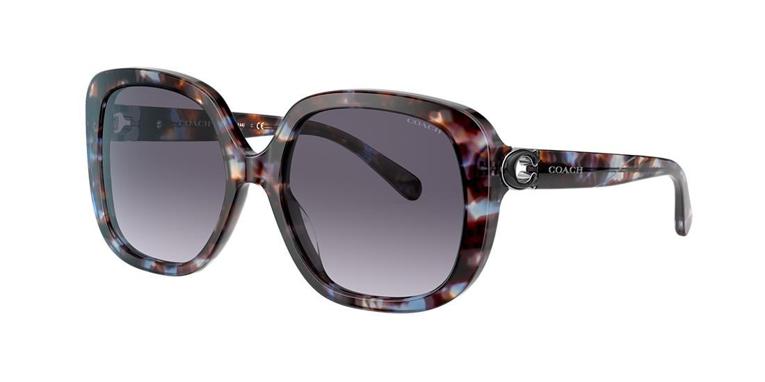 Coach Woman  HC8292 -  Frame color: Blue Tortoise, Lens color: Blue Gradient