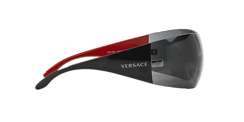 2601b4cad6 Versace VE2054 01 Grey-Black   Gunmetal Sunglasses