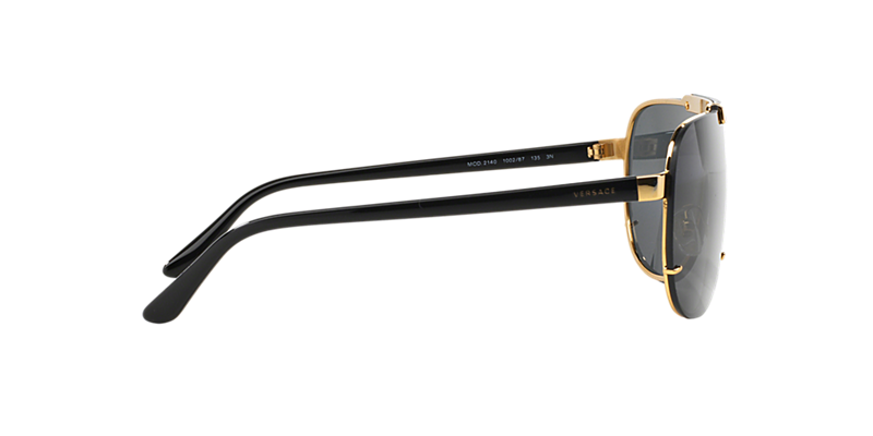 de9f81cc08 Versace VE2140 01 Grey-Black   Gold Sunglasses