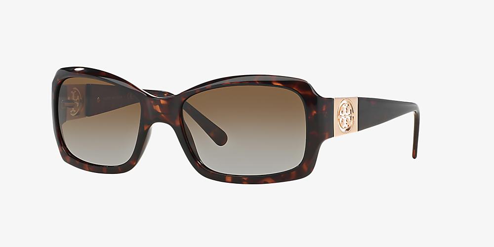 ef103e248495 Tory Burch TY9028 56 Brown & Tortoise Polarized Sunglasses ...
