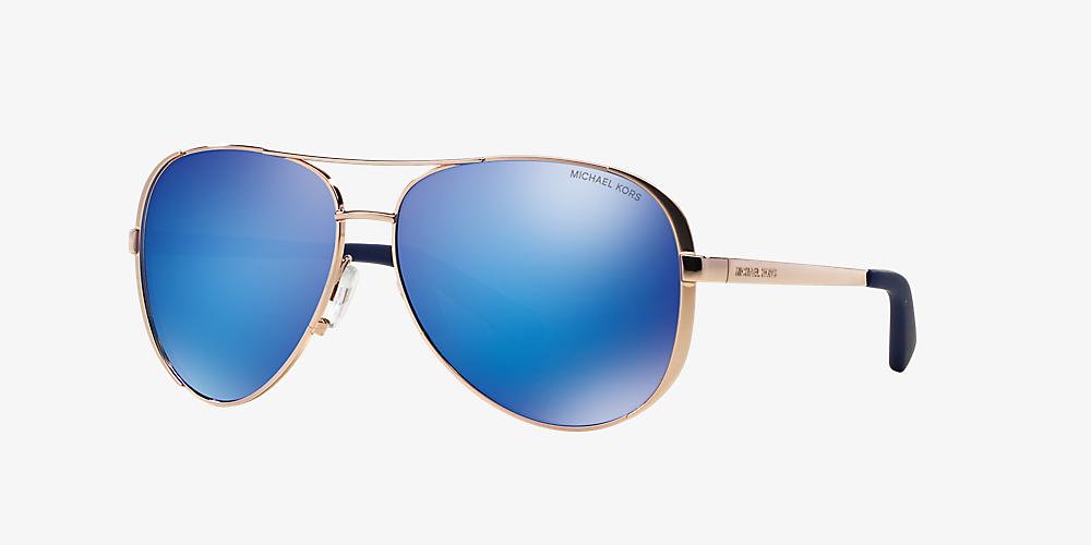 3f769231e34e Michael Kors MK5004 CHELSEA 59 Blue & Pink Sunglasses | Sunglass Hut ...