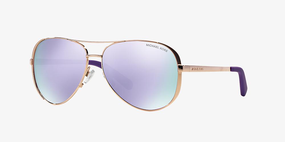 7658abf652bc Michael Kors MK5004 CHELSEA 59 Violet & Pink Sunglasses | Sunglass ...