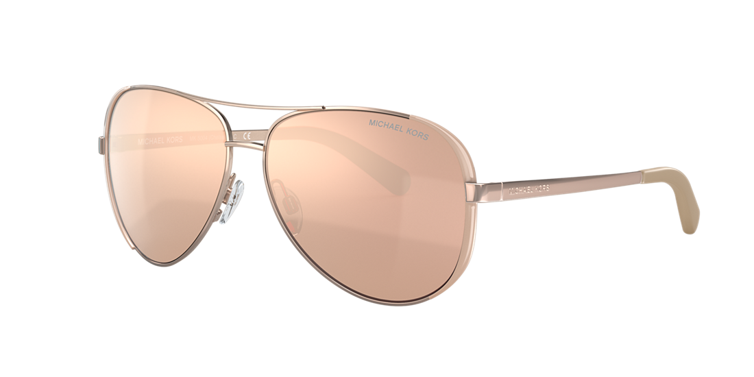 05d81fdd26 Michael Kors MK5004 CHELSEA 59 Brown   Pink Sunglasses