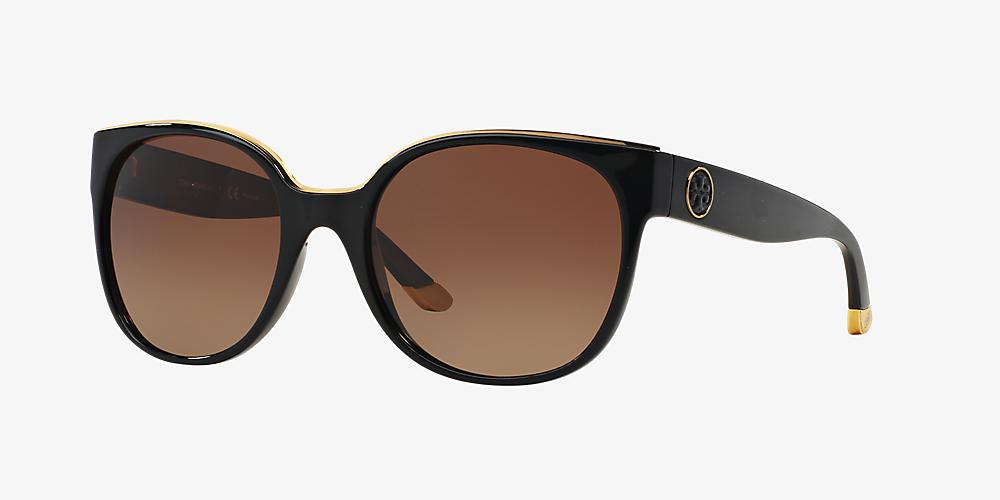 2765f0b6b38e Tory Burch TY9042 56 Brown & Black Polarized Sunglasses | Sunglass ...