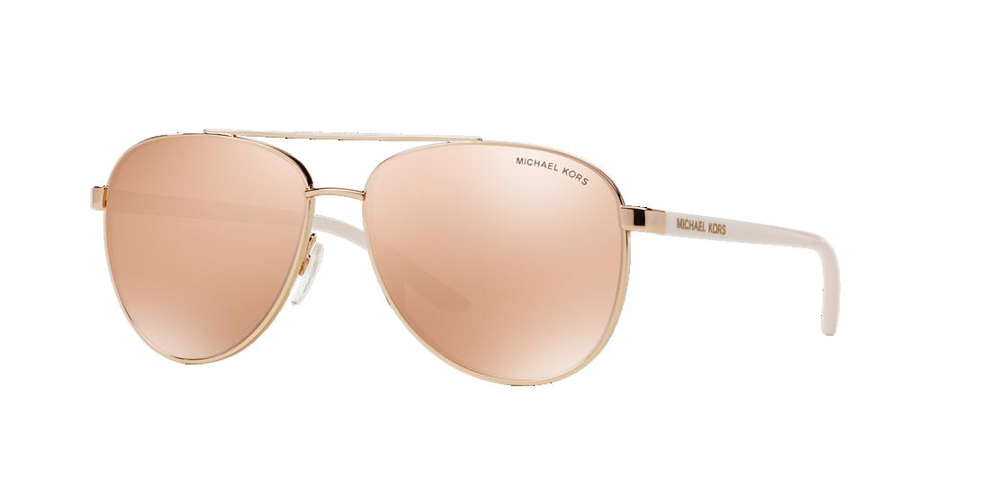 96c137419e Michael Kors MK5007 HVAR 59 Brown   Pink Sunglasses
