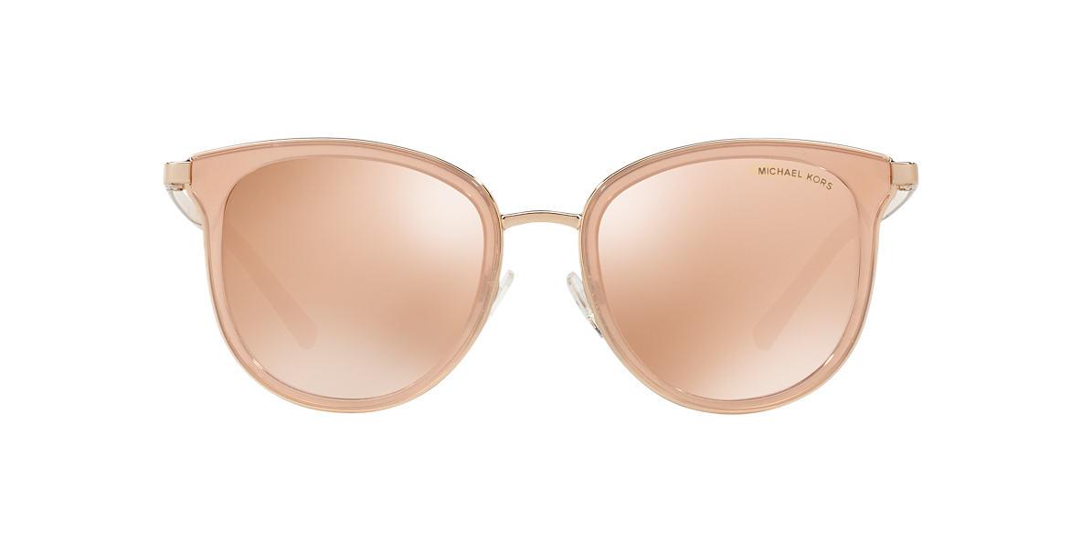 2505824ca3d Michael Kors MK1010 54 Brown   Pink Sunglasses