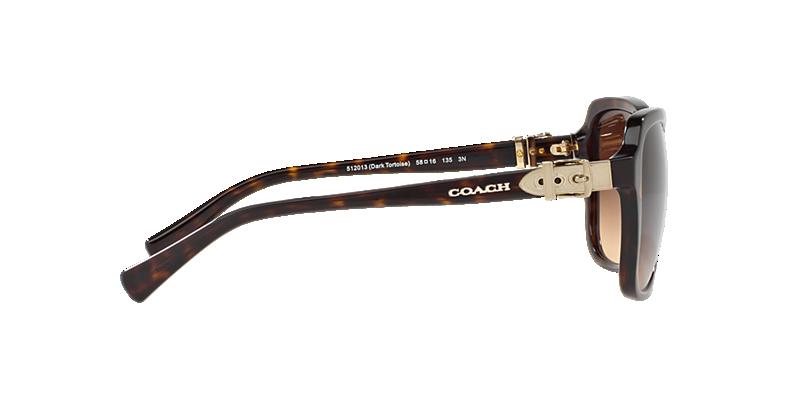 acd68f70b632d Coach HC8179 58 Brown   Tortoise Sunglasses