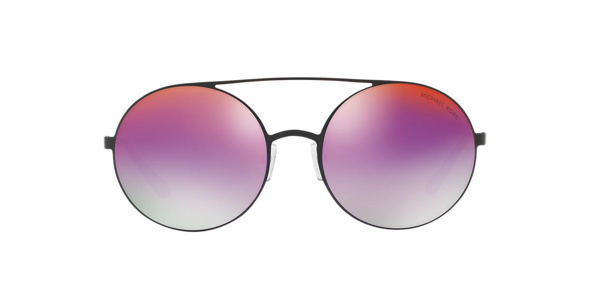 4d7e0fa6b08 Michael Kors MK1027 55 Purple   Black Sunglasses
