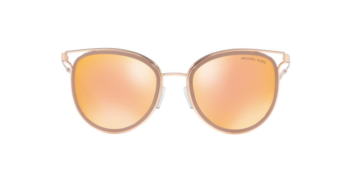 6c13547cb9 Michael Kors MK1025 52 Gold   Pink Sunglasses