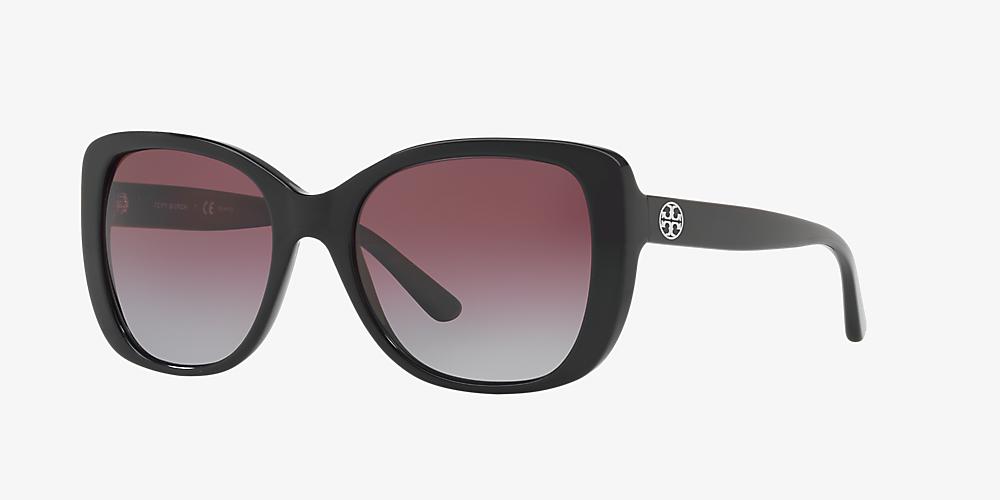 beeb1d909f7f Tory Burch TY7114 53 Violet & Black Polarized Sunglasses   Sunglass ...