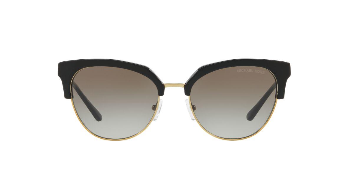 284d7a8edcba1 Michael Kors MK1033 54 Grey-Black   Black Sunglasses