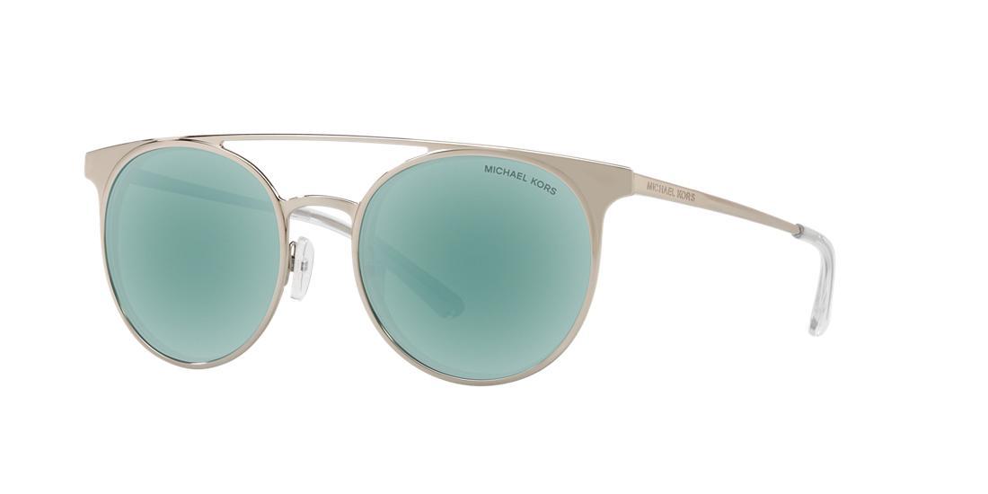 Michael Kors Woman  MK1030 GRAYTON -  Frame color: Silver, Lens color: Blue, Size 52-19/140
