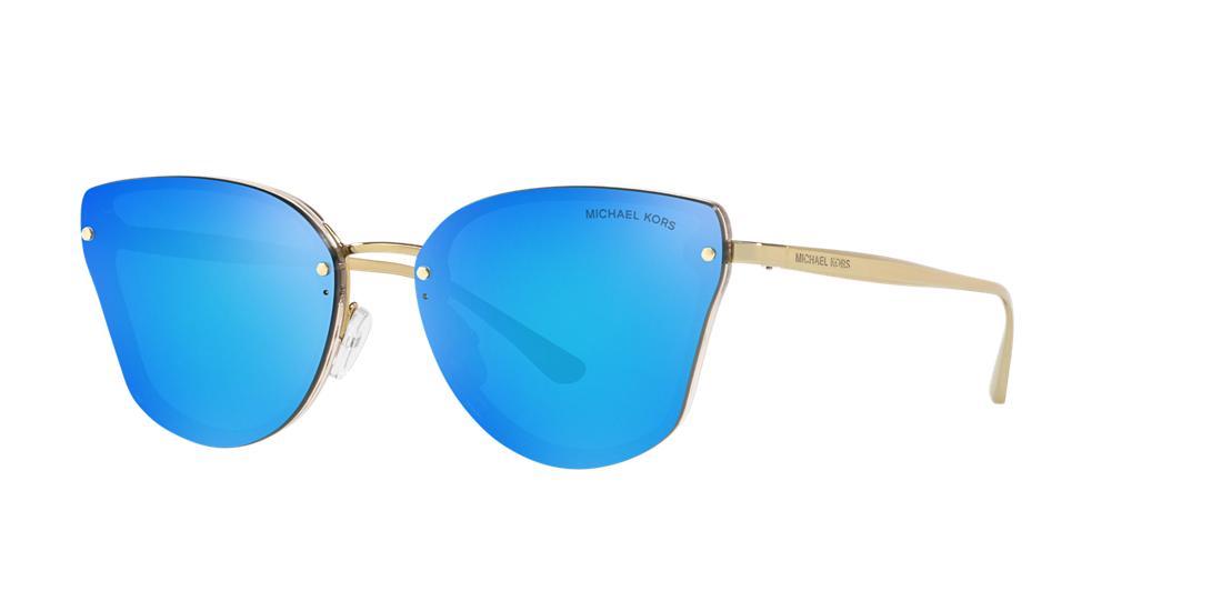 Michael Kors Woman  MK2068 SANIBEL -  Frame color: Brown, Lens color: Blue, Size 58-16/140