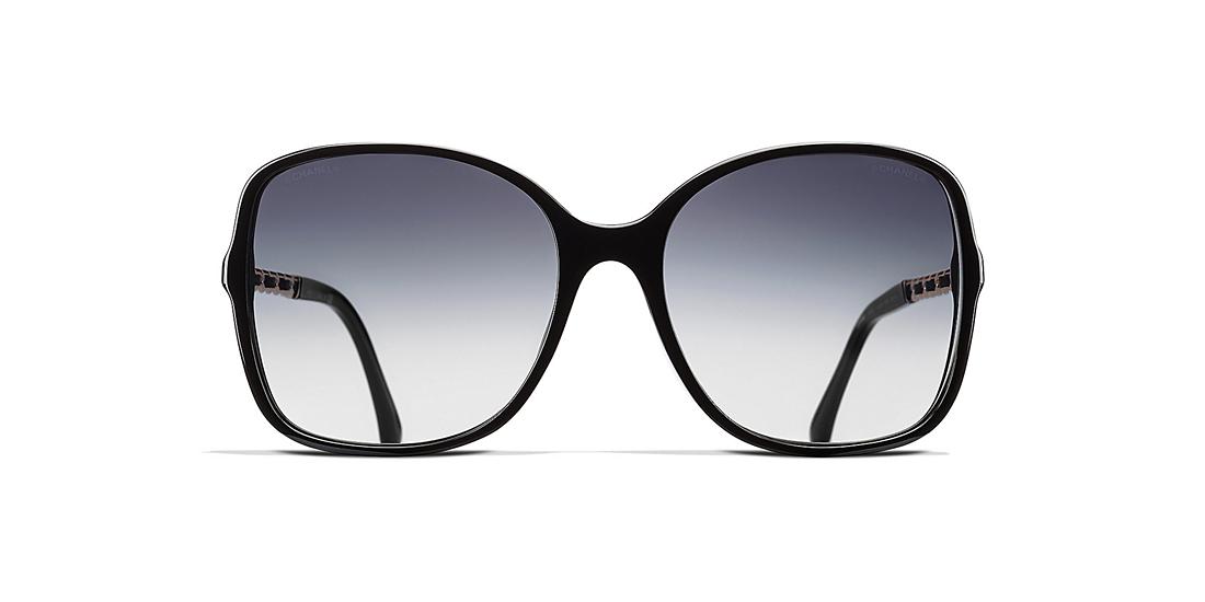 d62b325056d6 Chanel CH5210QA 57 Grey   Black Sunglasses