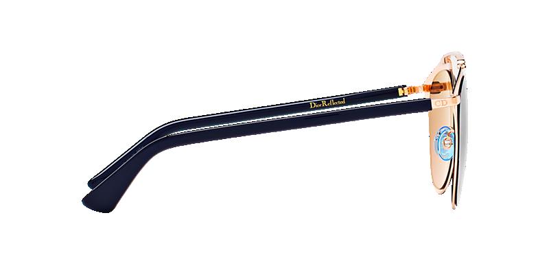0c6dfb99338b Christian Dior REFLECTED S 52 Gold   Bronze Sunglasses